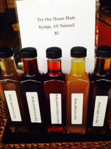 Slide Inn House Syrups