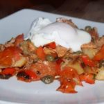 Slide Inn Salmon Hash